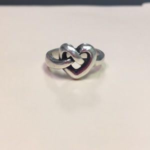 James Avery heart ring.